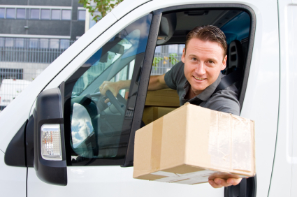 courier driver